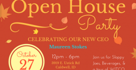 Maureen's Open House Party